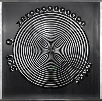 Heinz Mack, Optical ZERO-Rotor, 2010, after a design of 1965, © Heinz Mack + VG Bild-Kunst, Bonn