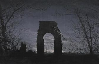 "Emma Stibbon, Aqueduct, Rome (aus der Serie ""The Gods that Failed""), 2011"