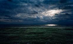 Thomas Wrede, Beach Marsh at Night (from the series 'Real Landscapes'), 2009, © Thomas Wrede, VG-Bildkunst, Bonn