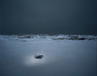 Thomas Wrede, Eisloch (from the series 'Real Landscapes'), 2010, © Thomas Wrede, VG-Bildkunst, Bonn