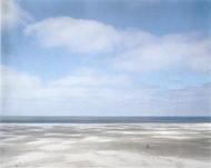 Thomas Wrede, Strandwanderer (from the series 'Seascapes'), 2004, © Thomas Wrede, VG Bild-Kunst, Bonn