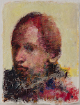 Nikos Aslanidis, Small Yellow Portrait, 2017